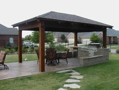 Image detail for -Pergola small outdoor kitchen designs with pergola - kitchen - Gallery ...