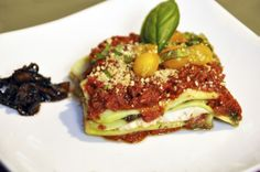 Mimi Kirk's Raw Vegan Lasagna! <3 #yumminess #healthy #guiltfree #rawfood CLICK the image to watch her recipe video for it!