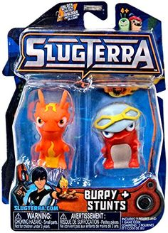 Slugterra Basic Figure Two Pack -Burpy, Stunts (pearlescent), Multicolor Bane Batman, Minecraft Pixel Art, Sci Fi Comedy, Cool Gear, Game Item, Magical Creatures, 8th Birthday, Stunts, Mini
