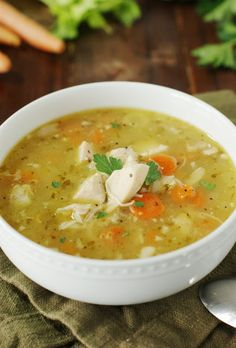 Rotisserie Chicken Soup image