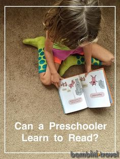 Can a Preschooler Learn to Read? | Bambini Travel