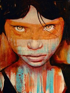 They say the eyes are the windows to the soul.  If so, I can see another world in this soul.  Pele by Michael Shapcott.