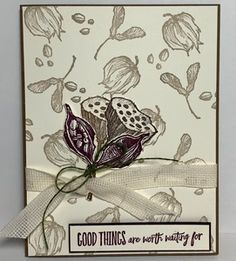 Enjoy The Moment | TheseAreMyStamps Fun Fold Cards, Folded Cards, Scrapbook Cards, Scrapbooking, Stampin Up Catalog, Stamping Up Cards, Card Sketches, Creative Crafts, Greeting Cards Handmade
