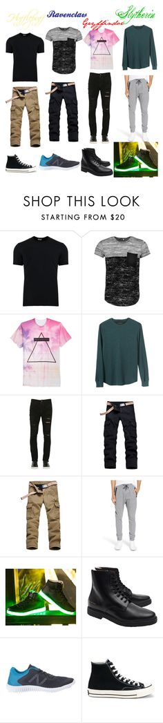 """Untitled #2506"" by llamapoop ❤ liked on Polyvore featuring Dolce&Gabbana, Boohoo, Univibe, Banana Republic, Giorgio Brato, Zanerobe, Common Projects, New Balance, Converse and men's fashion"