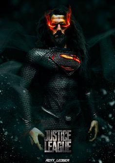 superman. justice league. by Royy _Ledger