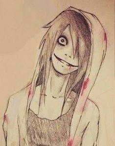 Jeff the killer x Jane the killer Vous l'avais sûrement. remarqué et… # Fanfiction # amreading # books # wattpad Scary Drawings, Dark Art Drawings, Art Drawings Sketches, Cute Drawings, Arte Horror, Horror Art, Horror Drawing, Creepypasta Cute, Emo Art