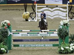 Beth Underhill and Count Me In won the Royal Horse Show 2019 Henry Equestrian Canadian Championship in Toronto, Ontario, Canada. And that's awesome. Canadian Horse, Trail Riding, Show Jumping, The Hard Way, Show Horses, Finals, Toronto, Awesome, Pictures