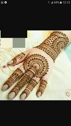 Henna Tattoo Designs Simple, Simple Arabic Mehndi Designs, Back Hand Mehndi Designs, Latest Bridal Mehndi Designs, Mehndi Designs Book, Mehndi Designs 2018, Mehndi Design Pictures, Mehndi Designs For Beginners, Mehndi Designs For Girls