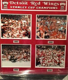 One of the many prizes up for grabs on Saturday! #RedWings