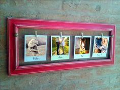Resultado de imagen para portaretratos de madera vintage