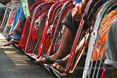 Yogyakarta, Indonesia, Kraton.Becak