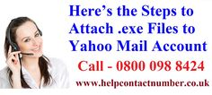 Having an issue with joining or attaching the .EXE file to your Yahoo mail? It's conspicuous to work out to resolve this issue as you have to attach it to send others for the distinctive reason. .EXE full form is Executable file format containing particular programs fit for being executable or keep running by double tapping on its symbol on the PC.