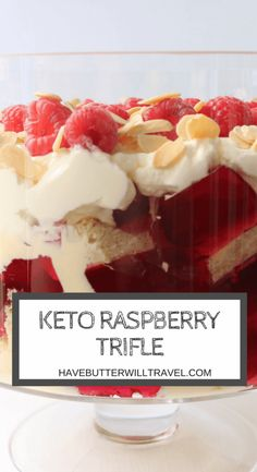 Trifle is a must have on many dessert tables on Christmas Day and may have been a dessert we have had to miss out on in the past. No longer, my keto friends