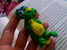 Aligatorek z modeliny - moje rękodzieło.