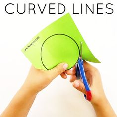 How to Teach Kids to Cut with Scissors on Curved Lines