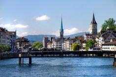 Zürich: 'Skyline' von Peter Burow