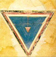 TANTRA FOUNDATION, Primal Triangle as the Cosmic Womb. Rajasthan. c.17th century.