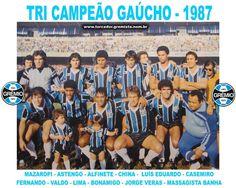 Campeão Gaúcho 1987