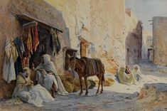 The Cloth Seller , by Eugene Alexis Girardet
