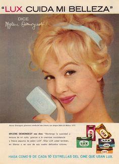 Mylène Demongeot - Lux ad. 1956