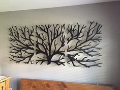 Metal Wall Art Decor Sculpture 3 Piece Tree Brunch Modern Fireplace Decor Tree of life - Tree Metal Wall Art – Abstract Wall Decor If you are looking for an original wall art to personal - Metal Wall Art Decor, Metal Tree Wall Art, Metal Art, Wood Art, 3d Wall, Modern Fireplace Decor, Wall Sculptures, Tree Sculpture, Unique Home Decor