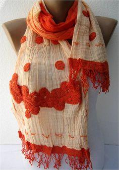 NEWElegant scarf  Fashion scarf  scarves  ShawlGif by MebaDesign, $17.90