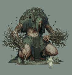 ArtStation - Crow Creature, Timofey Stepanov