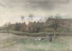 Anton Mauve - Bleekveldje