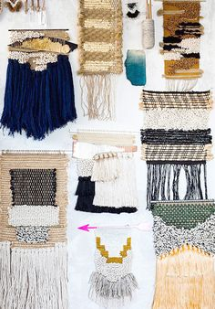 Wallhanging textiles