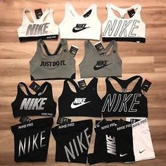 953c8c53ce1e8 Nike Pro Bras and Nike Pro Compression Shorts. Looking for matching Nike  pro shorts and more Nike bras