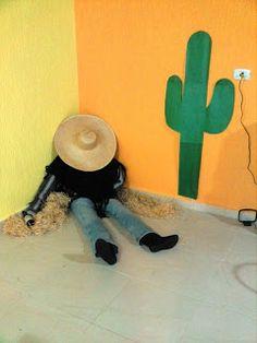 ha ha! Fiesta party decoration!!