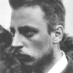 """Rainer Maria Rilke (4 December 1875 – 29 December 1926) was a Bohemian-Austrian poet and novelist, """"widely recognized as one of the most lyrically intense German-language poets"""", writing in both verse and highly lyrical prose. Several critics have described Rilke's work as inherently """"mystical"""". His writings include one novel, several collections of poetry, and several volumes of correspondence in which he invokes haunting images that focus on the difficulty of communion with the ineffable…"""