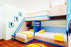 Designs Kleiner Schlafzimmer, Moderne Schlafzimmer, Etagenbett Designs,  Zimmer Tour,