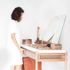 klassischer schminktisch spiegel weiß design gewaschen grifoni, Badezimmer