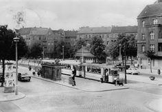 Berlin-Pankow, U-Bahnhof Vinetastraße, 1960