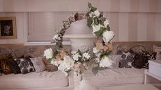 Christmas Floristry Tutorial: Vintage Willow and Lace wreath