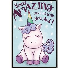 Unicorn Amazing Poster With Choice of Frame
