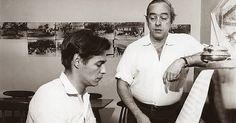 """Chega de Saudade   Vinícius de Moraes e Tom Jobim   1956    """"Chega de Saudade""""  é uma canção escrita por Vinícius de Moraes  (letra) e p..."""