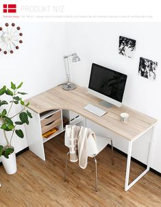 Find the best idea to make a home office for two. Sharing a house office sounds later a good idea at first glance. It saves stirring plenty of appearance and on the other hand of having to create two alternating rooms. Home Office Space, Home Office Design, Home Office Decor, Home Decor, Office Ideas, Office Setup, Office Organization, Home Office Table, Library Design
