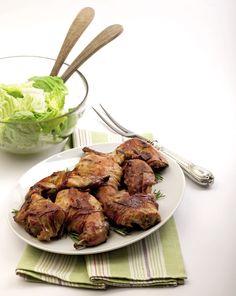 #Coniglio al forno con la #senape #ricetta #senzaglutine #cooking #food