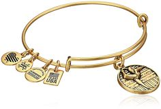 Alex and Ani Team USA Gymnastics Expandable Bangle Bracelet -- You can get additional details, click the image : trend jewelry 2016