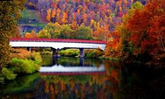 Phillipi Covered Bridge —  Phillipi, WV.  K Dempsey Photography