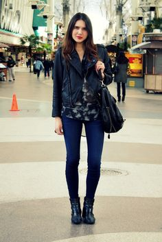 have this jacket from Kohls!  love the skinny jeans and booties with it for Fall