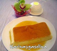"""Flan de huevo al estilo tradicional del blog Harinaygasolina Cocineros del Mundo: Recetas Participantes en el Reto de Febrero 2015 """"Huevos o Cítricos"""""""