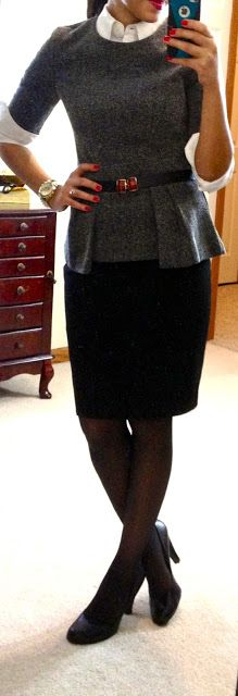 Nice business outfit for winter