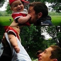 AWWW TYLER AND THE BABY :333
