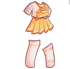 Manga Clothes, Drawing Anime Clothes, Dress Drawing, Fashion Drawing Dresses, Clothing Sketches, Cute Kawaii Drawings, Fashion Design Drawings, Cartoon Art Styles, Character Outfits