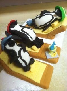 Gingerbread penguins