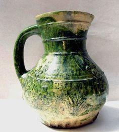 British Museum - Jug - 1240-1360 (circa) - Registration number 1854,1130.58