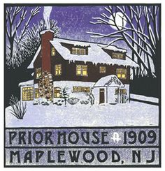 A gorgeous block print by Laura Wilder